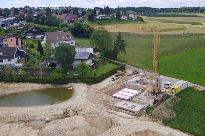 Neubau EFH Blumer, Berg