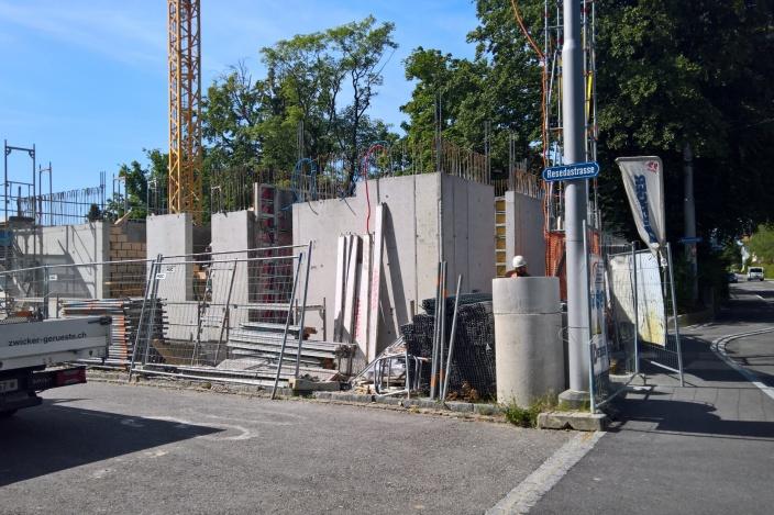 Neubau MFH Resedastrasse, St. Gallen