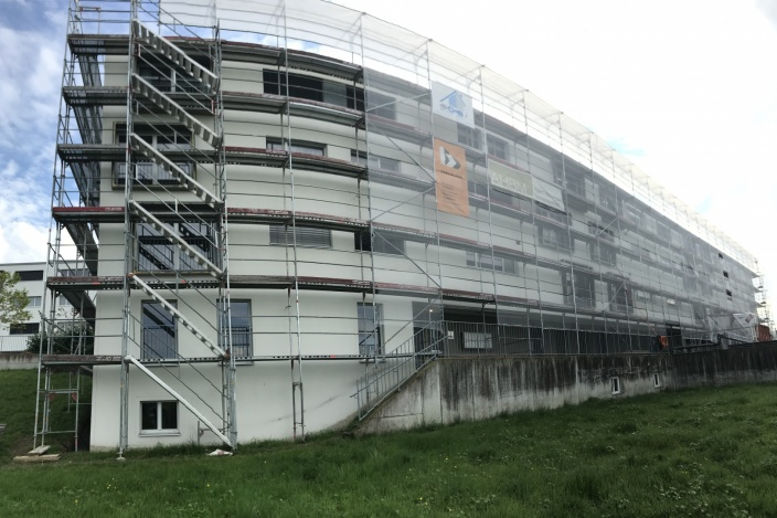 Fassadensanierung Vogelherd, St. Gallen