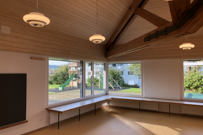 Teilsanierung Kindergarten Hofegg, Gossau