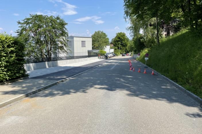 Parkplatzerstellung Berneggstrasse, St. Gallen