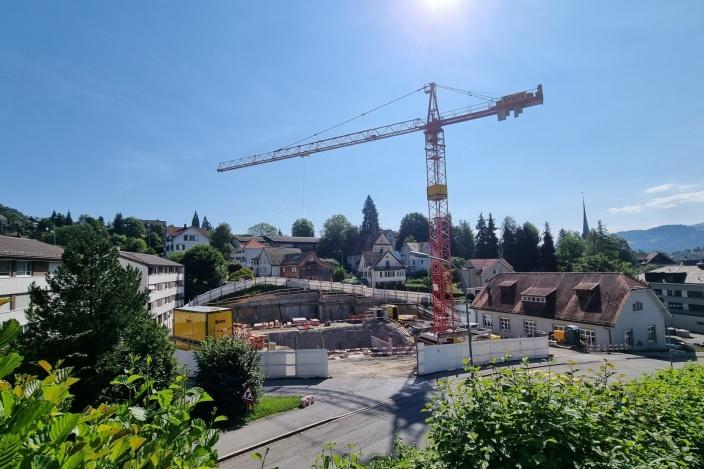 Neubau MFH Werden, Teufen