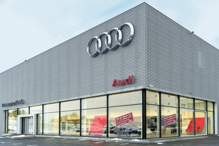 Neubau Audi, St. Gallen