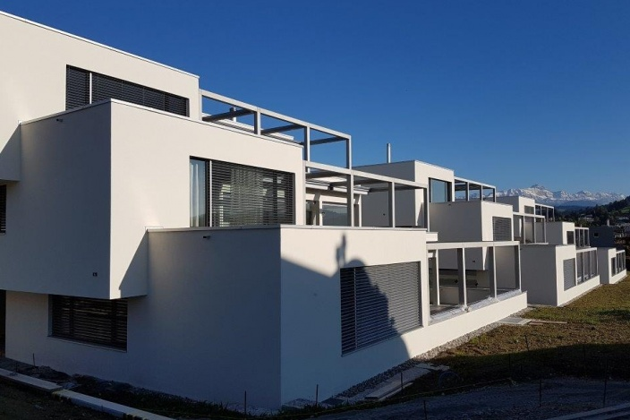Terrassenhäuser 3HALDEN, Gossau
