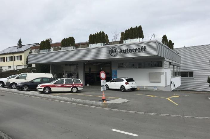 Umbau Werkstatt VW, Wittenbach