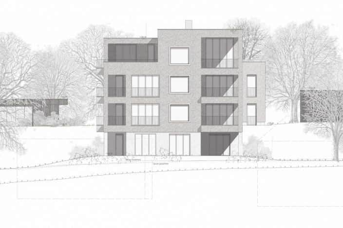 Neubau Wohnhaus am Höhenweg 21, St. Gallen