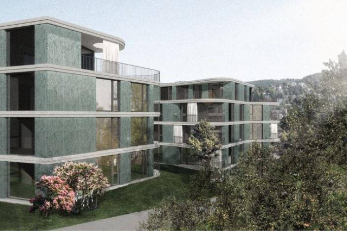 Neubau Wohnhäuser an der Resedastrasse 1 und 3, St. Gallen