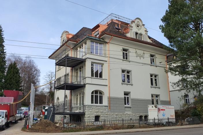 Umbau Tannenstrasse, St. Gallen