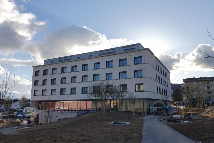 Zentrumsüberbauung Spelteriniwiese, Bazenheid