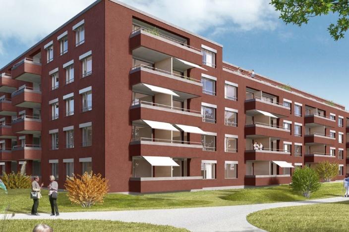 Neubau Wohnen Plus, Saurer WerkZwei, Arbon