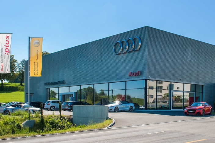 Neubau Audi St. Gallen, Wittenbach