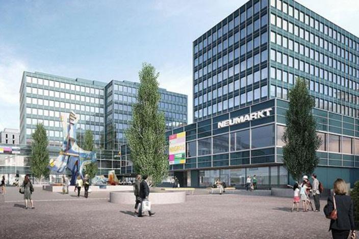 Neumarkt 3, 4 und 5, St. Gallen