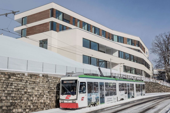 Neubau Berit Klinik, Speicher