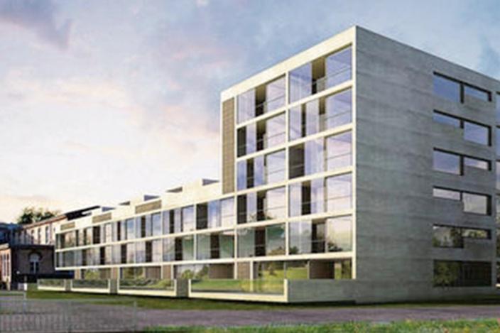 Wohnüberbauung Happypark, Haus Riviera, Gossau