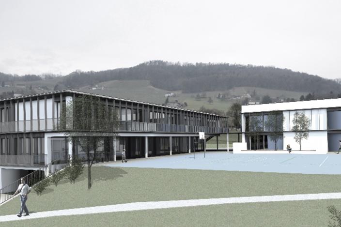 Neubau Primarschulzentrum mit Turnhalle, Weinfelden
