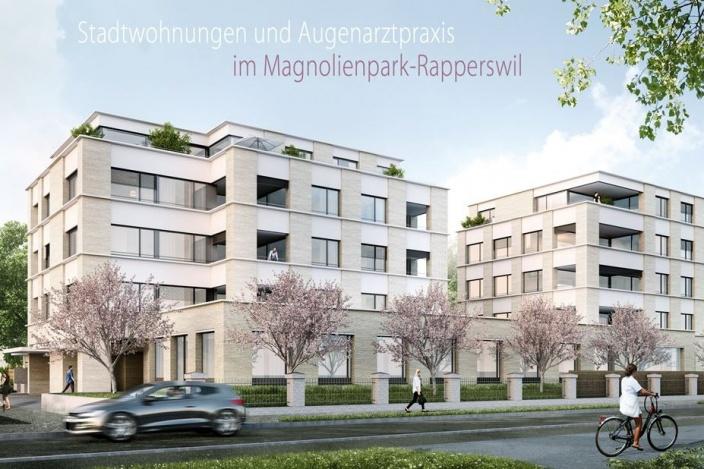 Neubau MFH Magnolienpark, Rapperswil