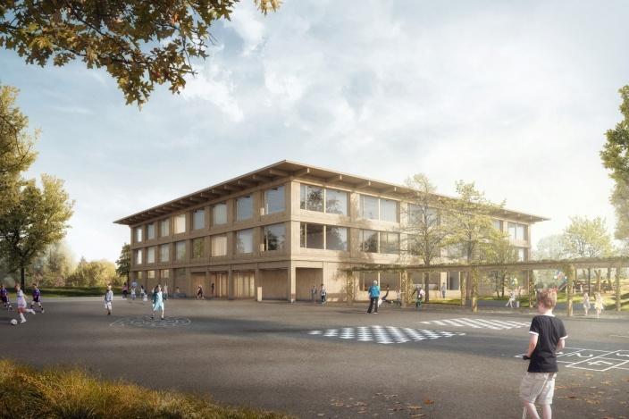 Neubau Martin-Haffter-Schulhaus, Weinfelden