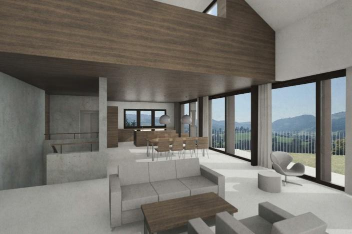 Neubau EFH, Niederteufen